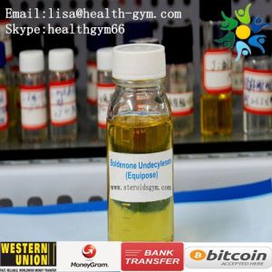 High Purity Yellow Liquid 13103-34-9 Boldenone Undecylenate or Equipoise