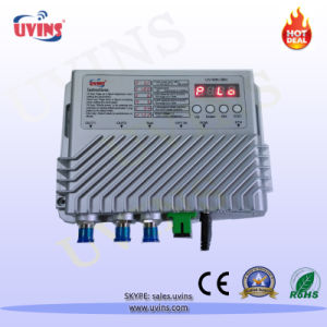 CATV FTTH Mini Optical Receiver Node with Attenuator Button Control pictures & photos