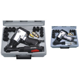 17 PC 1/2′′ Air Impact&Ratchet Wrench Kit (AT-5000SG|AT-5000) pictures & photos