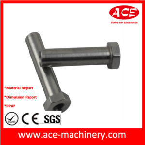 CNC Machining of Metal Pole Part pictures & photos