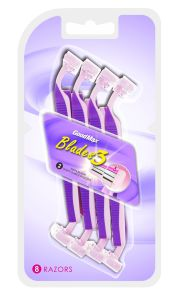 Popular Twin Blades Disposable Shaving Razor (8PCS/card) pictures & photos