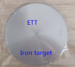 Iron (Fe) Sputtering Target pictures & photos