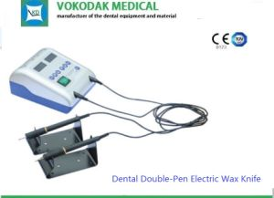 Lab Instrument Double-Pen Dental Electric Wax Knife pictures & photos