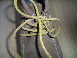 Cheap Fashion Custom Leather Shoelaces pictures & photos