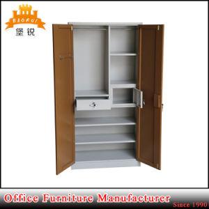 Popular Bedroom Furniture Large Steel Wardrobe pictures & photos