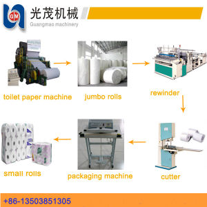 Best Seller Toilet Tissue Paper Making Machine for Sale pictures & photos