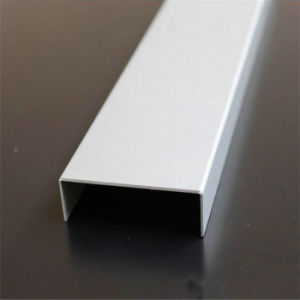 Building Materials Metal Tile Trim Corners Stainless Steel U Channel Custom Size and Color pictures & photos