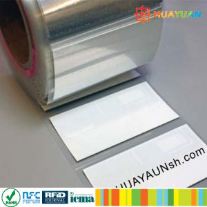 Long Range Asset Tracking 70X30mm IMPINJ M4QT UHF RFID label pictures & photos