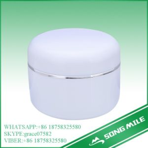 250g Ordinary High Quality PP White Cream Jar for Cosmetic pictures & photos