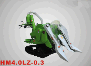 Paddy gasoline Combine Harvester pictures & photos