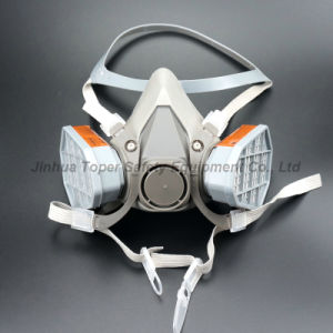 Double Cartridge Type Chemical Respirator Dual Cartridge Gas Mask Respirator (CR6200) pictures & photos