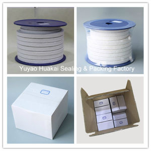 High Quality Reinfored Pure Grease PTFE Without Oil Braided Packing