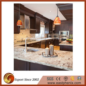 Naturel Giallo Ornamental Granite Kitchen Countertop pictures & photos