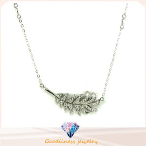 High Quality and Fashion Jewelry 925 Sterling Silver Plume Necklace (N6593) pictures & photos