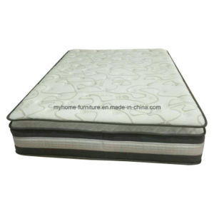 Luxury Convoluted Foam Tencel Fabric Pocket Spring Mattress pictures & photos