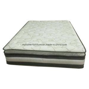 Luxury Convoluted Foam Tencel Fabric Pocket Spring Mattress