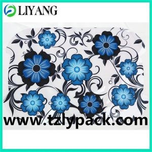 Client′s Wanting Shape, Heat Transfer Film for Plastic, Blue Flower pictures & photos