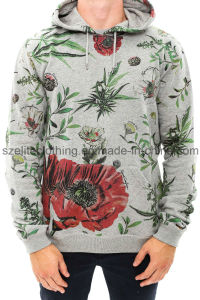 Cotton Custom Printed Men Pullover Hoodies (ELTHSJ-309) pictures & photos