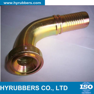Hydraulic Fitting with Low Price Metric Hose Fitting Hose pictures & photos