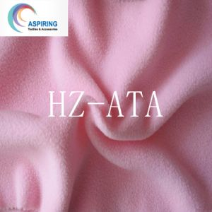 Solid and Printed Polar Fleece Fabric Manufacture pictures & photos
