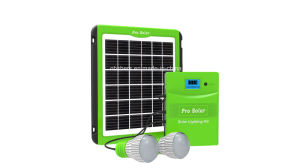 Multi-Functional 5W Solar Emergency System pictures & photos