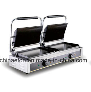 Eton Brand Electric Double Flat Contact Grill (ET-YP-816B) pictures & photos