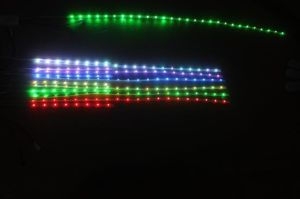 60 LEDs 12W CE RoHS DC 12V 5050 RGB LED Strip Light pictures & photos