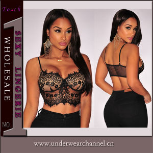 Naughty Girl Sexy Club Wear Top Bra (25086) pictures & photos