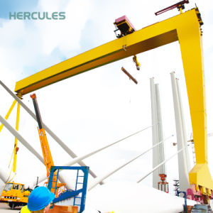 Trussed Type Electric Remote Control Single Beam Gantry Crane pictures & photos
