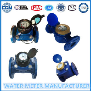 Iron Body Datachable Dry Type Woltmann Water Meter of Dn100mm pictures & photos