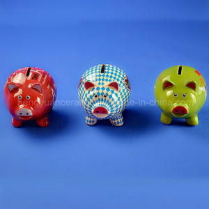 Lovely Color Pig Money Coin Bank for Children Gifts pictures & photos