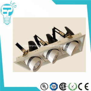 3*20W COB LED Museum Track Lighting, LED Track Lighting pictures & photos
