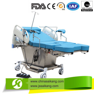BV Certification Durable Electric Parturition Bed pictures & photos