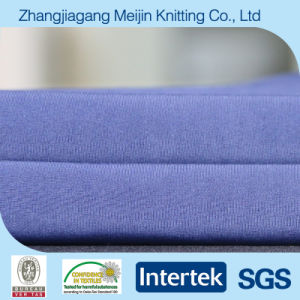 Weft Knit Polyester Spandex Elastic Fabric for Swimwear (MJ5049)