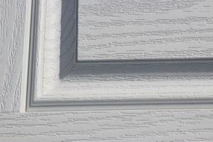 Fangda Medieval Wooden Fiberglass Door pictures & photos