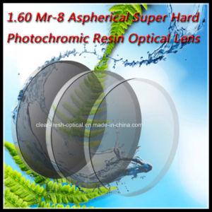 1.60 Mr-8 Aspherical Super Hard Photochromic Resin Optical Lens