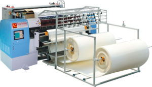 Non Shuttle Chain Stitch Multi-Needle Quilting Machine Computerized for Quilting Mattress pictures & photos