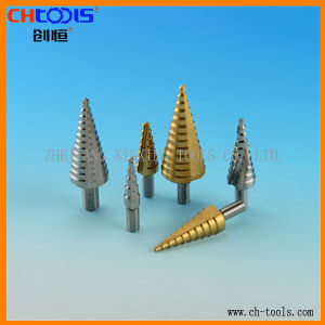 Spiral Flute HSS Step Drill From China pictures & photos
