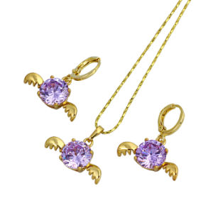 Free Sample Valentine′s Gift Angel Jewelry Set (60735) pictures & photos