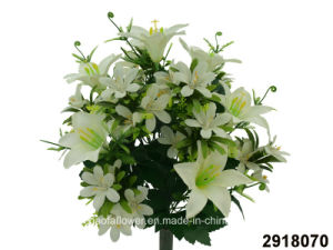 Artificial/Plastic/Silk Flower Lily/Orchid Mixed Bush (2918070) pictures & photos