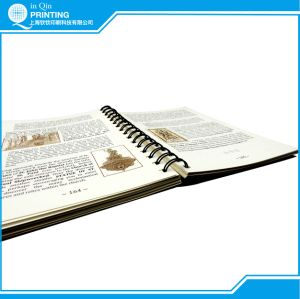 Wire-O Binding Full Color Book Printing pictures & photos