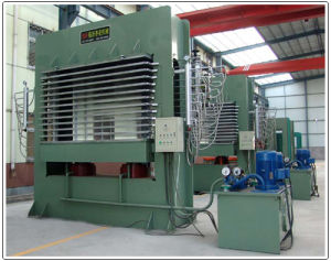 Automatic Hydraulic Veneer Plywood Hot Press Machine pictures & photos