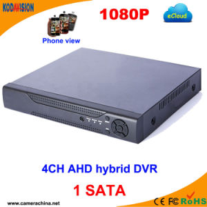 4 Channel Standalone Ahd Hybrid H 264 CCTV Software DVR pictures & photos