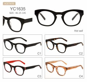 in Stock Fashion New Style Acetate Optical Frames Eyeglasses Eyewear pictures & photos