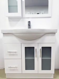 Australian Style MDF Wooden Bathroom Vanity/Cabinet (P192-900GL) pictures & photos