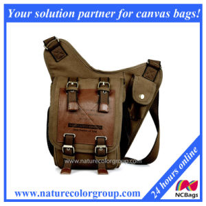 Special Design Men Canvas Messenger Bag Chest Pack (MSB-012) pictures & photos