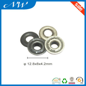 Customized Logo Eyelets Plated Various Metal Color Eyelet