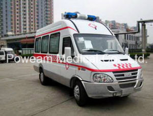 First Aid Iveco Hospital Patient Transport Ambulance (CHJX4405JN) pictures & photos