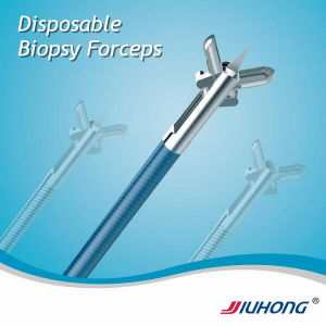 Surgical Instruments Manufacturer! ! Jiuhong Disposable Biopsy Forceps for Coloboscopy pictures & photos