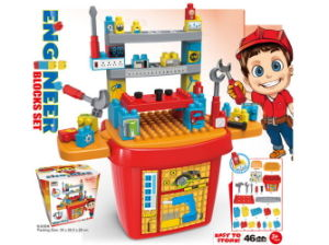 Kids Toy Tool Set Toy Bricks Set (H5931058) pictures & photos